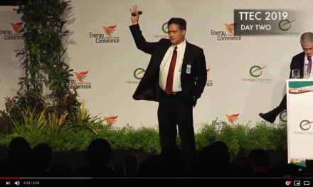 NGC President, Mark Loquan at TT Energy Conference 2019 [Video]