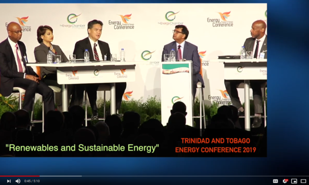 'Renewables and Sustainable Energy' – NGC President at TT Energy Conference 2019 [Video]