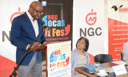 Speech for Launch of NGC Bocas Lit Fest 2019