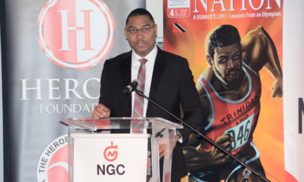 Speech, Launch of Heroes Foundation Comic Book: 'A Runner's Life—Lessons from an Olympian'