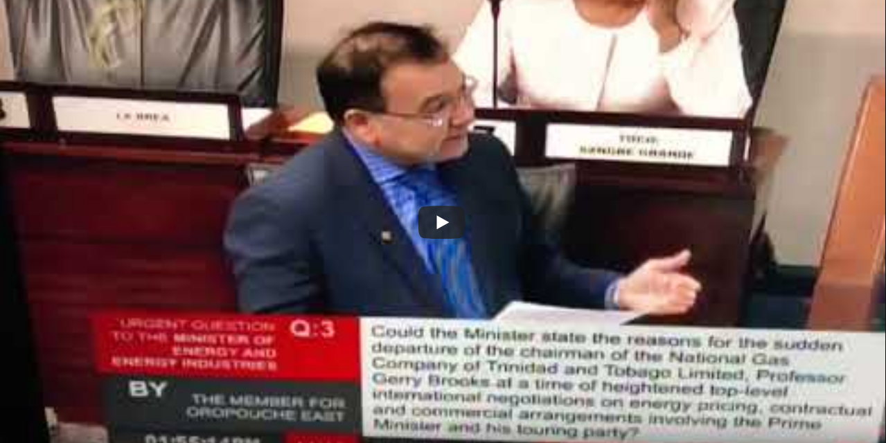 Urgent Question to the Minister of Energy and Energy Industries [Video]