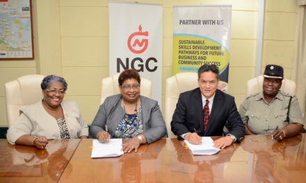 NGC Partners with YTEPP for Youth Vocational Skills Training