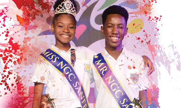 Mr and Miss NGC Sanfest Teen Talent Competition