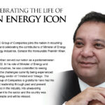 Celebrating the Life of an Energy Icon